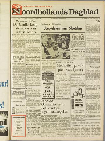 Noordhollands Dagblad : dagblad voor Alkmaar en omgeving 1968-06-14