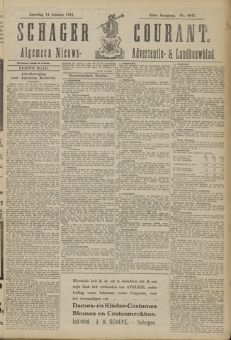 Schager Courant 1911-01-14