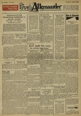 De Vrije Alkmaarder 1948-01-06