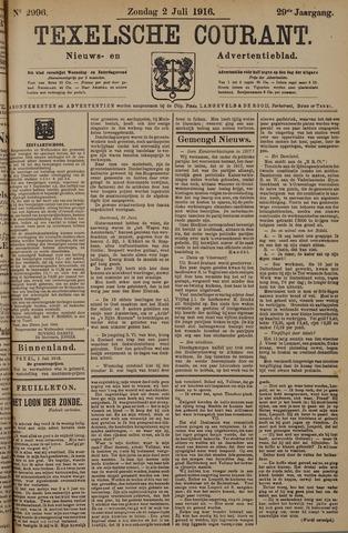 Texelsche Courant 1916-07-02