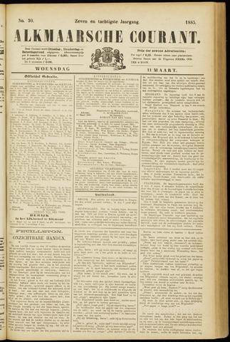 Alkmaarsche Courant 1885-03-11