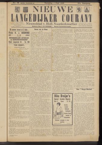 Nieuwe Langedijker Courant 1928-06-02