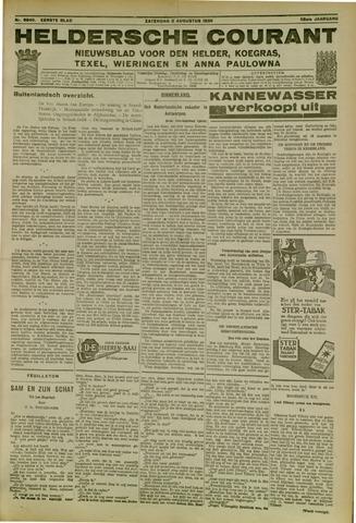 Heldersche Courant 1930-08-02