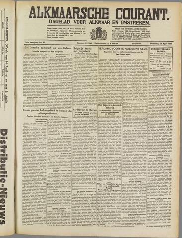 Alkmaarsche Courant 1941-04-16