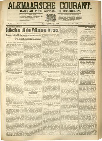 Alkmaarsche Courant 1933-10-16