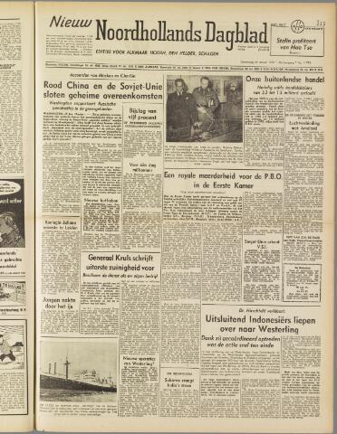 Nieuw Noordhollandsch Dagblad : voor Alkmaar en omgeving 1950-01-26
