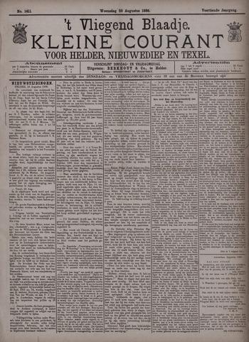 Vliegend blaadje : nieuws- en advertentiebode voor Den Helder 1886-08-25