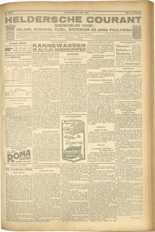 Heldersche Courant 1927-06-18