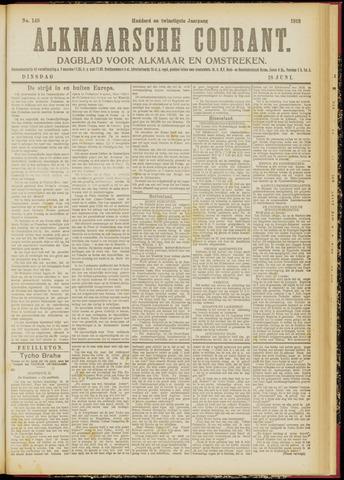 Alkmaarsche Courant 1918-06-18