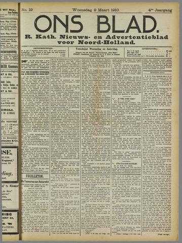 Ons Blad : katholiek nieuwsblad voor N-H 1910-03-09