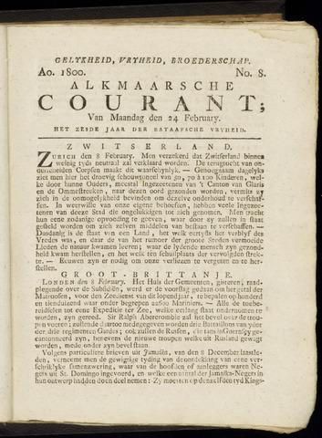 Alkmaarsche Courant 1800-02-24