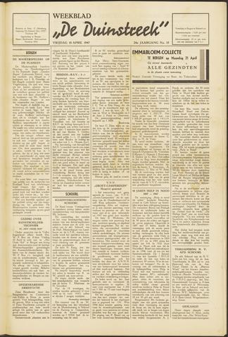 De Duinstreek 1947-04-18