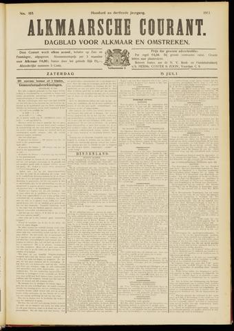 Alkmaarsche Courant 1911-07-15