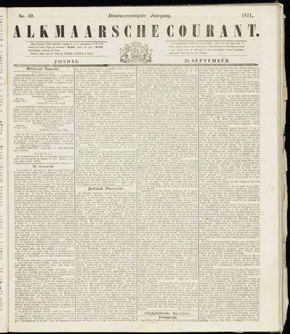 Alkmaarsche Courant 1871-09-24