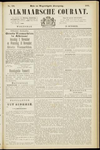Alkmaarsche Courant 1891-10-21