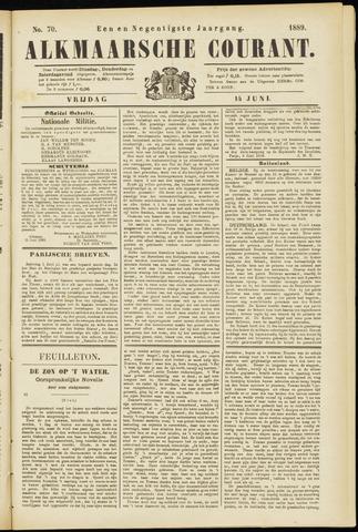 Alkmaarsche Courant 1889-06-14