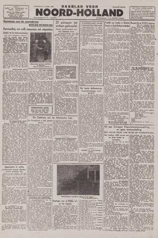 Dagblad Noord-Holland, Schager editie 1943-04-14