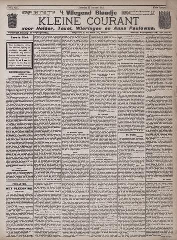 Vliegend blaadje : nieuws- en advertentiebode voor Den Helder 1914-01-17
