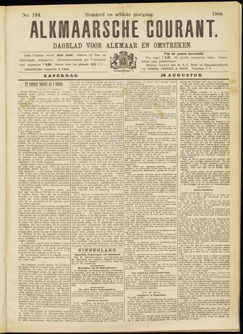 Alkmaarsche Courant 1906-08-18