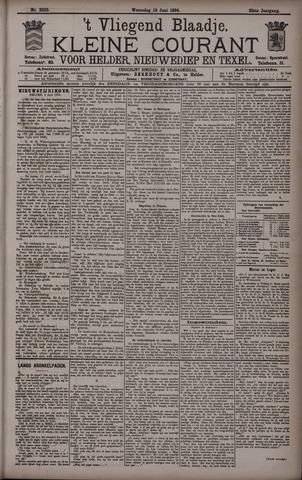 Vliegend blaadje : nieuws- en advertentiebode voor Den Helder 1894-06-13