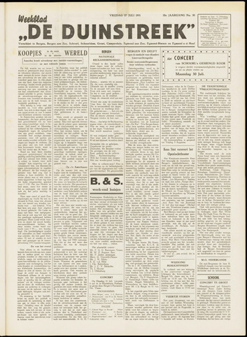 De Duinstreek 1951-07-27