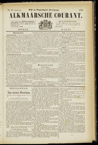 Alkmaarsche Courant 1893-06-18