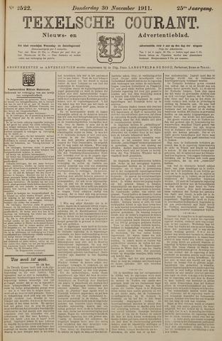 Texelsche Courant 1911-11-30