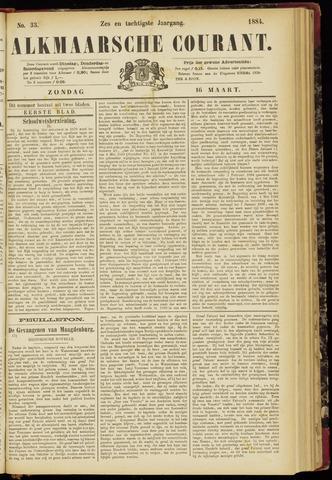 Alkmaarsche Courant 1884-03-16