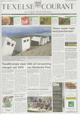 Texelsche Courant 2009-09-08