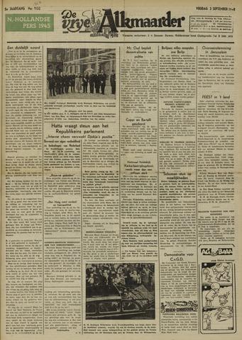 De Vrije Alkmaarder 1948-09-03