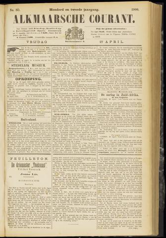 Alkmaarsche Courant 1900-04-27