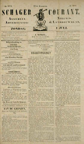 Schager Courant 1883-07-01