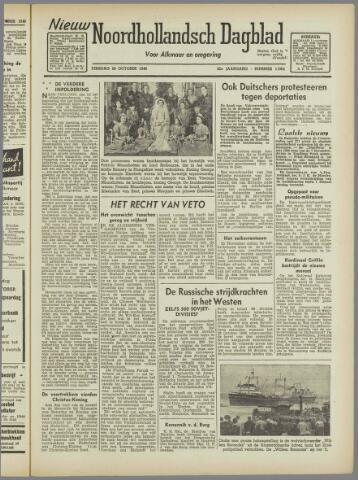 Nieuw Noordhollandsch Dagblad : voor Alkmaar en omgeving 1946-10-29