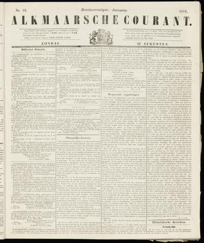 Alkmaarsche Courant 1871-08-13