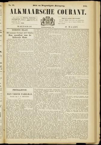 Alkmaarsche Courant 1891-03-18
