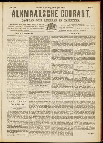 Alkmaarsche Courant 1907-03-07