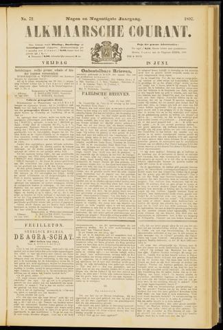 Alkmaarsche Courant 1897-06-18