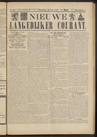 Nieuwe Langedijker Courant 1923-06-16