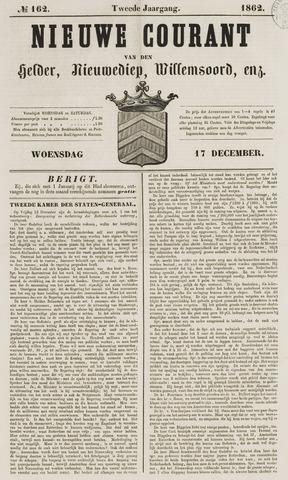 Nieuwe Courant van Den Helder 1862-12-17