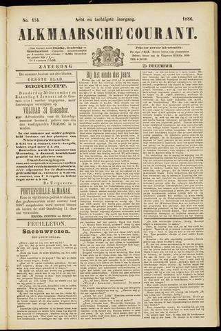 Alkmaarsche Courant 1886-12-25