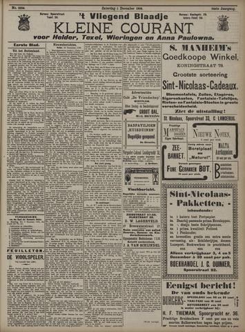 Vliegend blaadje : nieuws- en advertentiebode voor Den Helder 1906-12-01