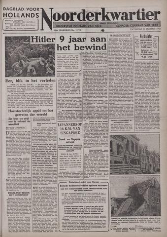 Dagblad voor Hollands Noorderkwartier 1942-01-31