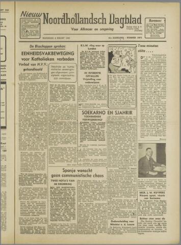Nieuw Noordhollandsch Dagblad : voor Alkmaar en omgeving 1946-03-04