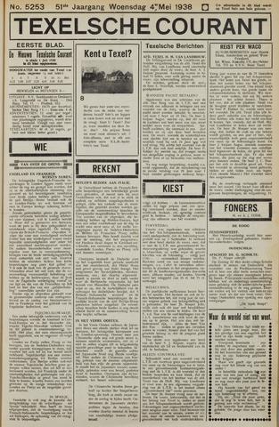 Texelsche Courant 1938-05-04