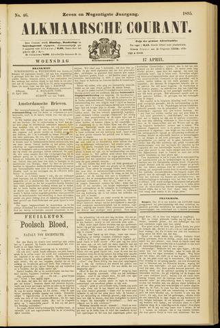 Alkmaarsche Courant 1895-04-17