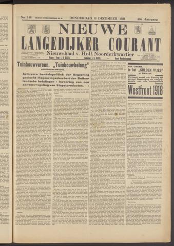 Nieuwe Langedijker Courant 1931-12-10