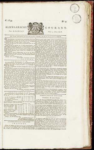 Alkmaarsche Courant 1834-03-03