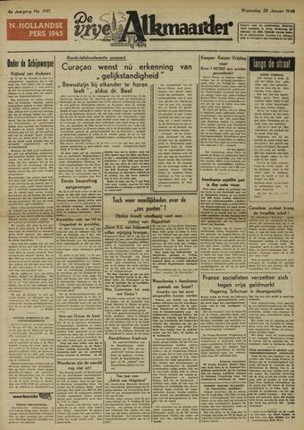 De Vrije Alkmaarder 1948-01-28
