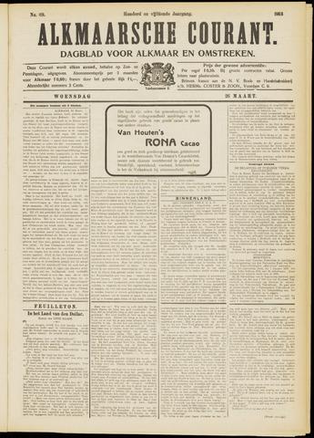 Alkmaarsche Courant 1913-03-26