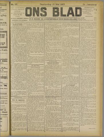 Ons Blad : katholiek nieuwsblad voor N-H 1917-05-10